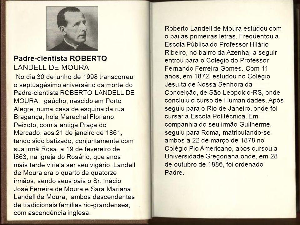 Padre-cientista ROBERTO LANDELL DE MOURA