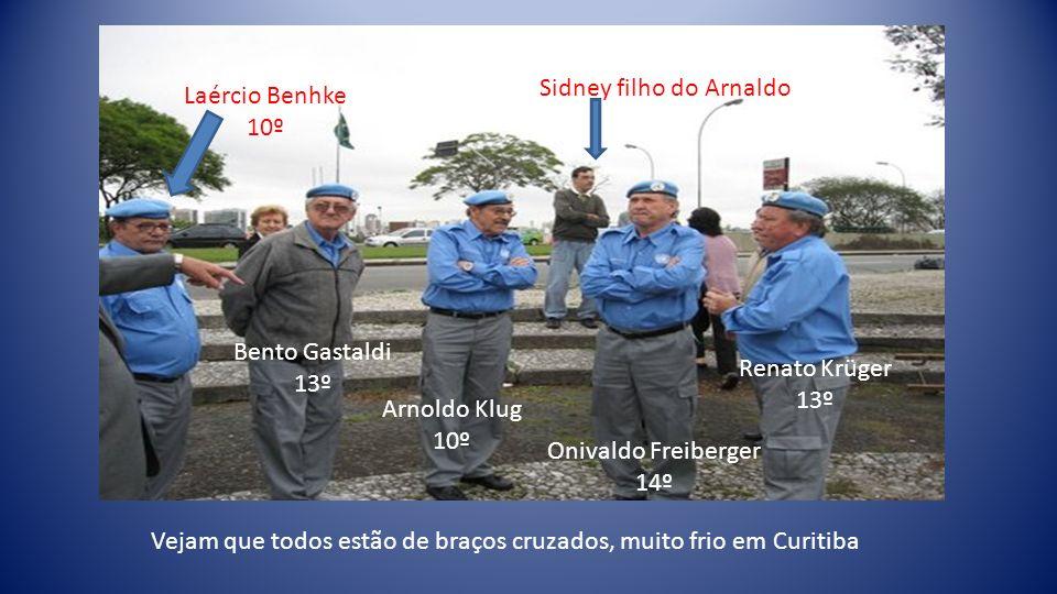 Jarbas 2º cont. Da esq.p/dir.: Arnaldo, Adolfo e Jarbas do 2º cont.