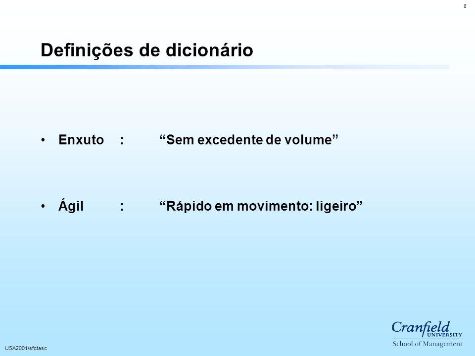 Definições de dicionário