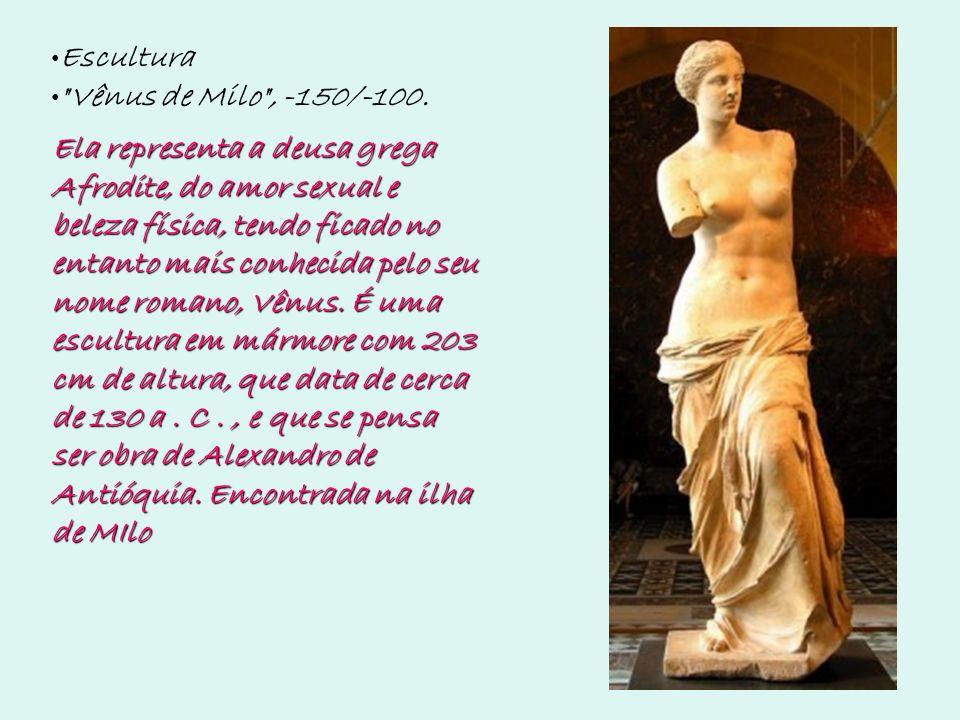 Escultura Vênus de Milo , -150/-100.