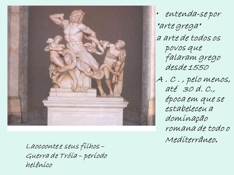 a arte de todos os povos que falaram grego desde 1550