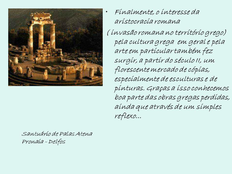 Finalmente, o interesse da aristocracia romana