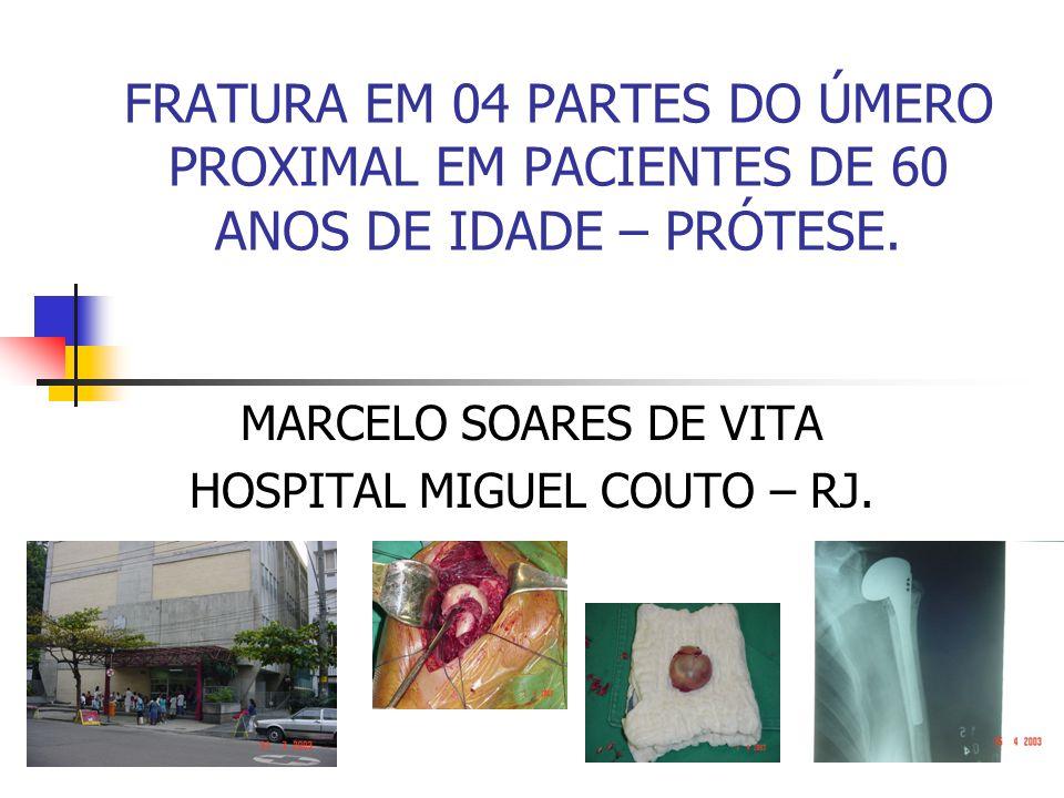 MARCELO SOARES DE VITA HOSPITAL MIGUEL COUTO – RJ.