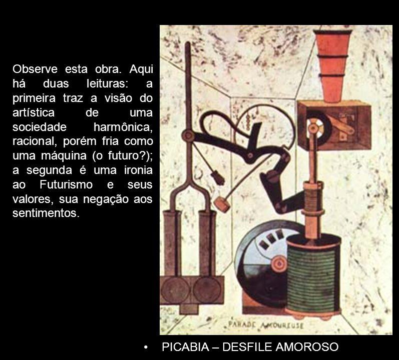 PICABIA – DESFILE AMOROSO