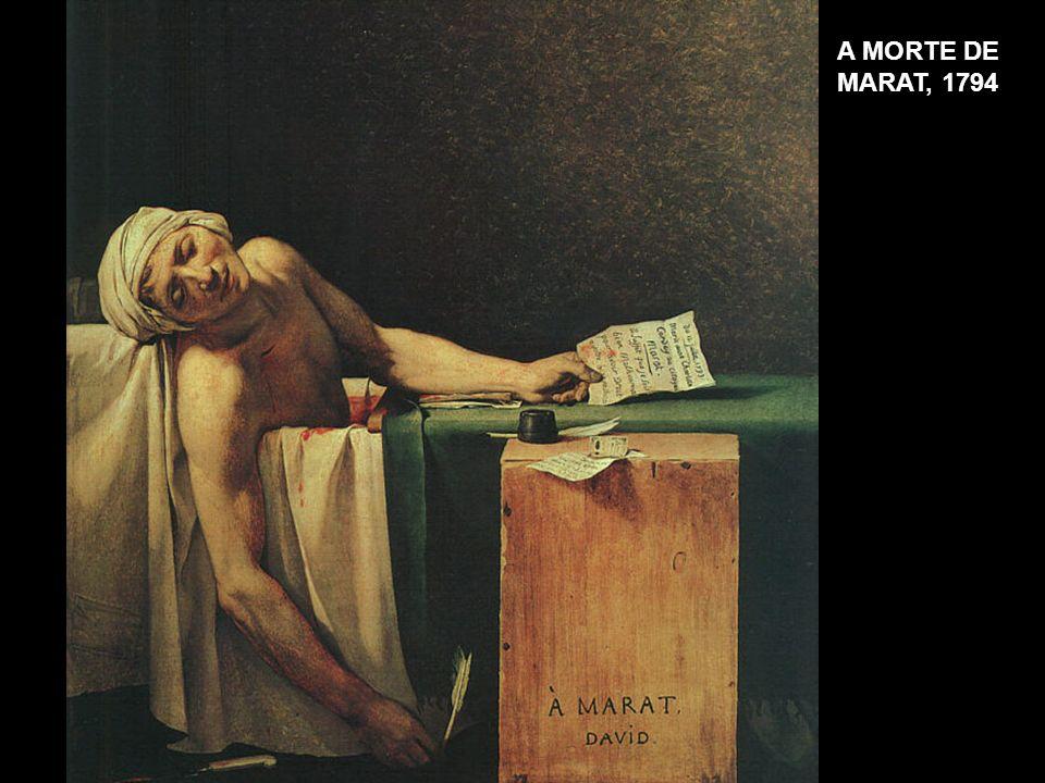 A MORTE DE MARAT, 1794