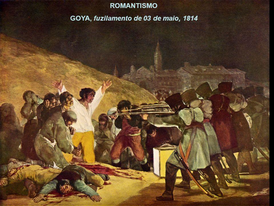GOYA, fuzilamento de 03 de maio, 1814