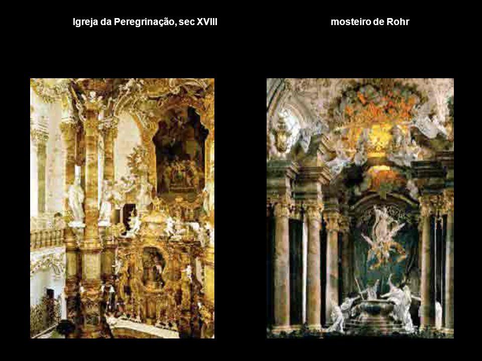 Igreja da Peregrinação, sec XVIII mosteiro de Rohr
