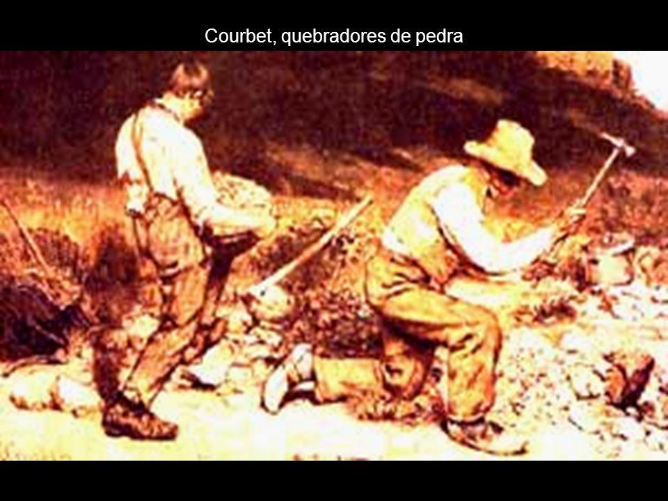 Courbet, quebradores de pedra