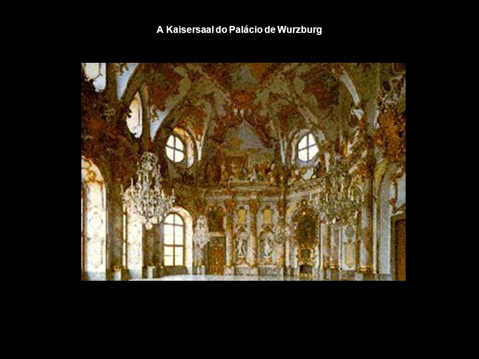 A Kaisersaal do Palácio de Wurzburg