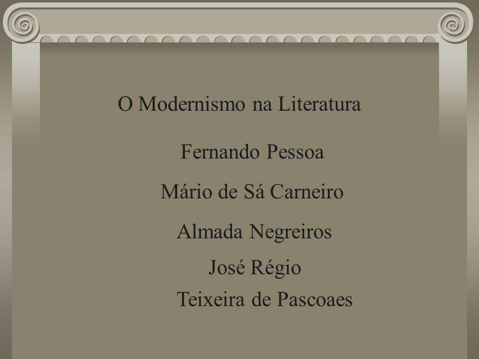 O Modernismo na Literatura