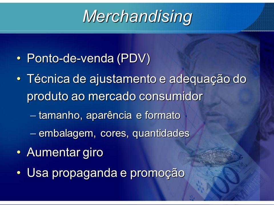 Merchandising Ponto-de-venda (PDV)