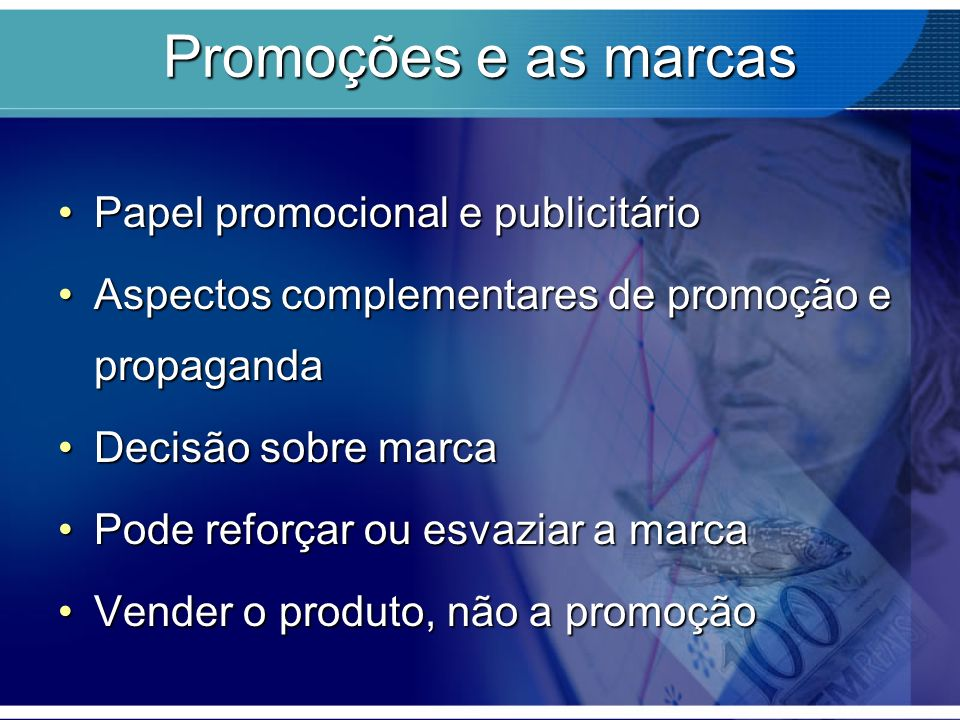 Promoções e as marcas Papel promocional e publicitário