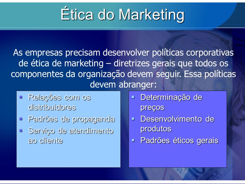 Ética do Marketing