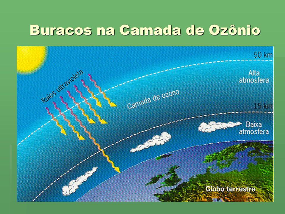 Buracos na Camada de Ozônio