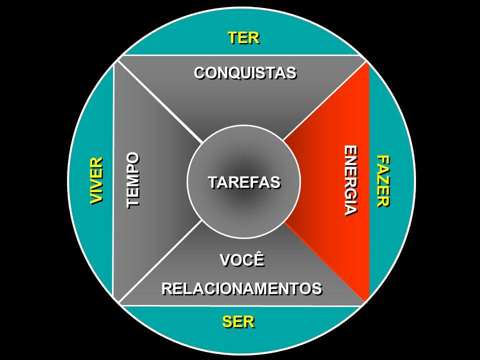 TER CONQUISTAS VIVER TEMPO TAREFAS ENERGIA FAZER VOCÊ RELACIONAMENTOS SER