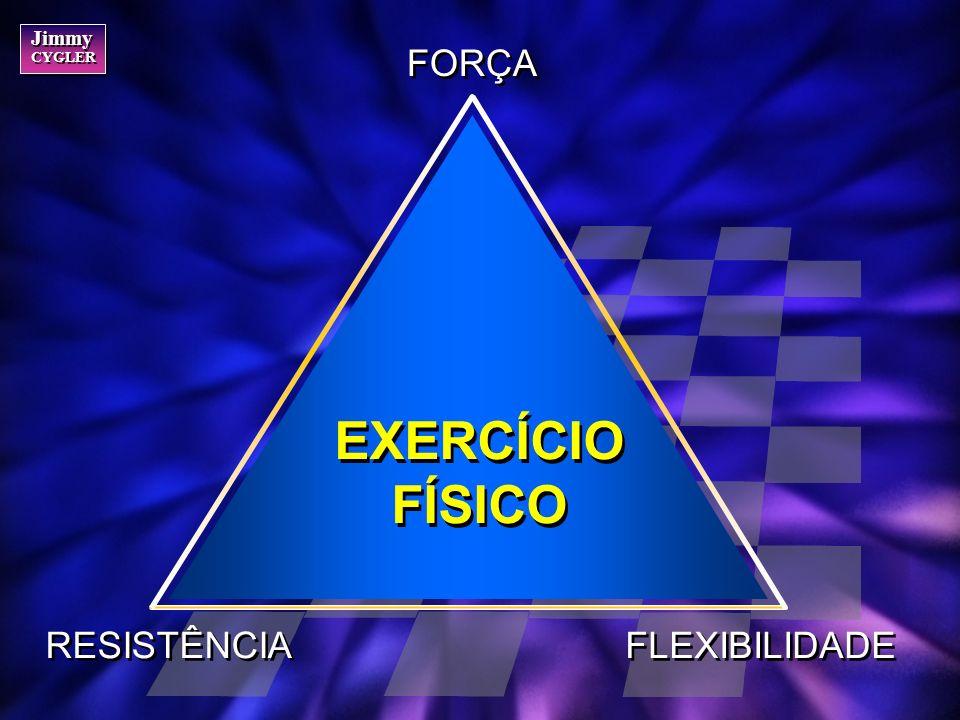 FORÇA EXERCÍCIO FÍSICO RESISTÊNCIA FLEXIBILIDADE
