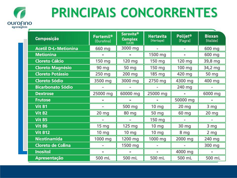 PRINCIPAIS CONCORRENTES