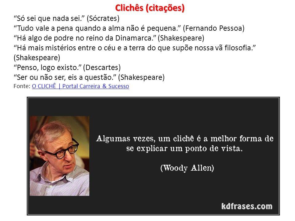 Clichês (citações)