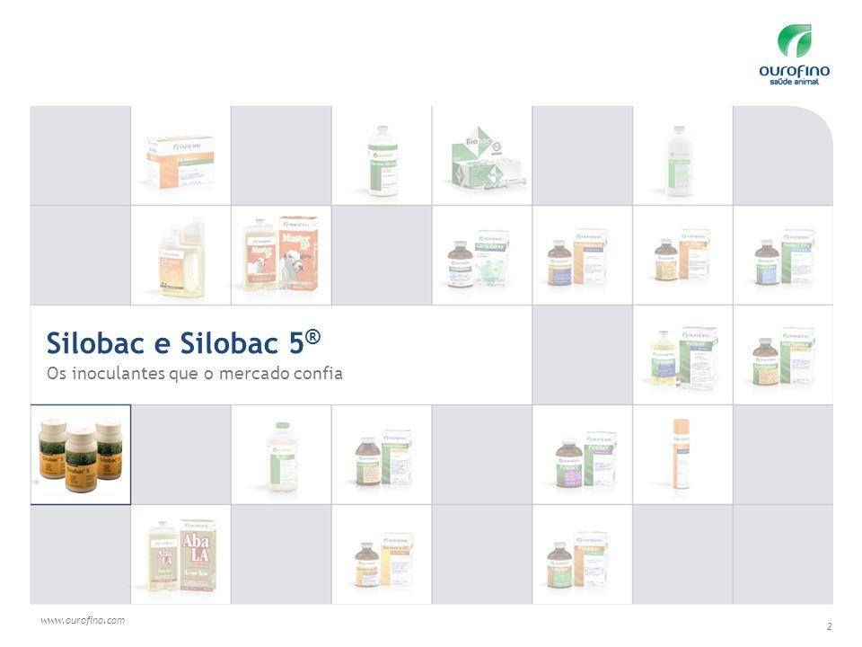 Silobac e Silobac 5® Os inoculantes que o mercado confia