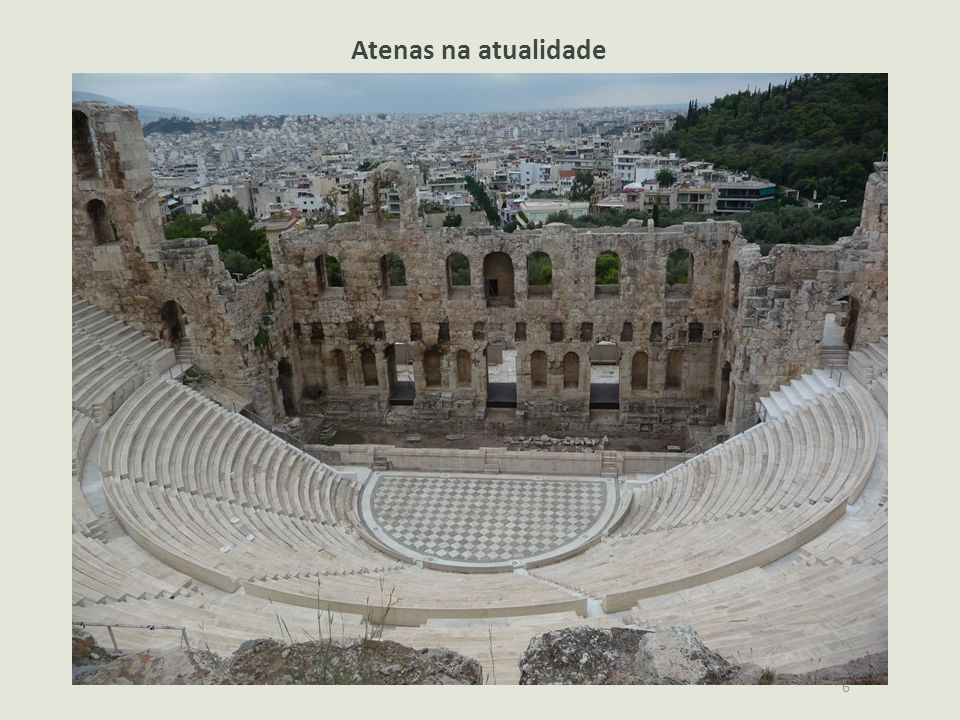 Atenas na atualidade