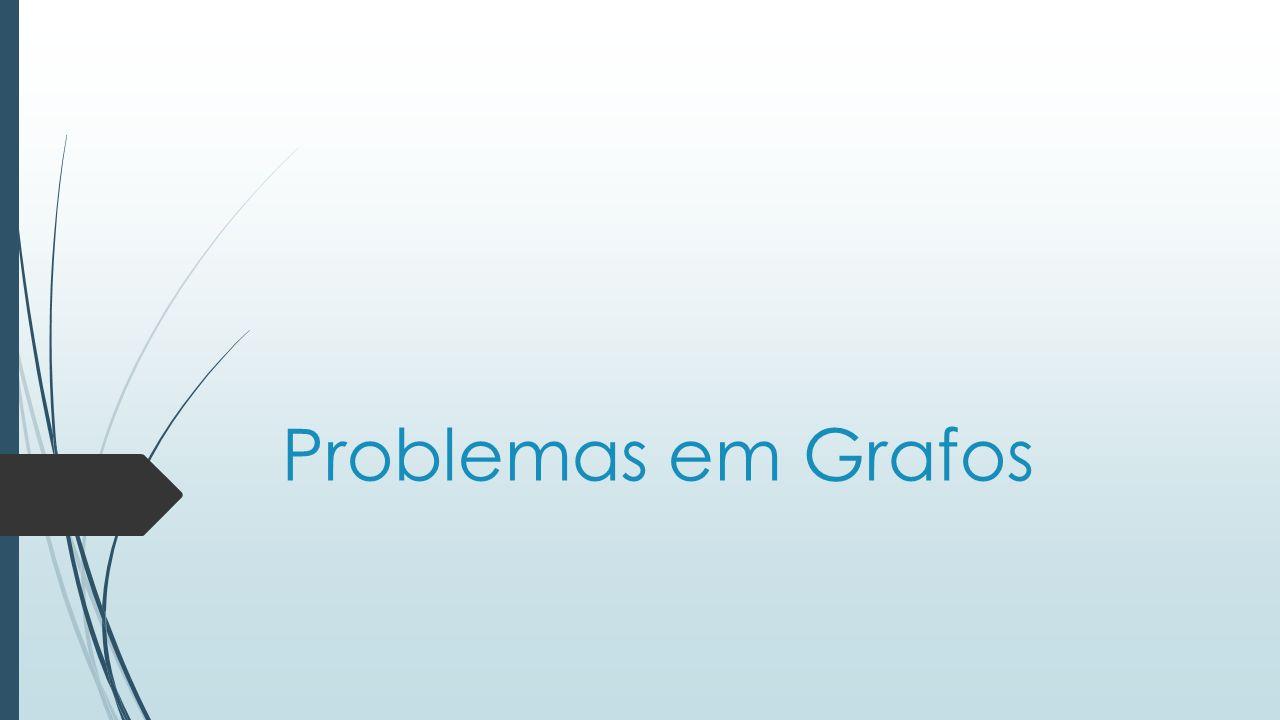 Problemas em Grafos