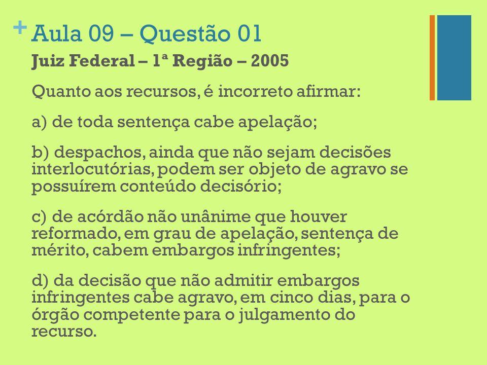 Aula 09 – Questão 01