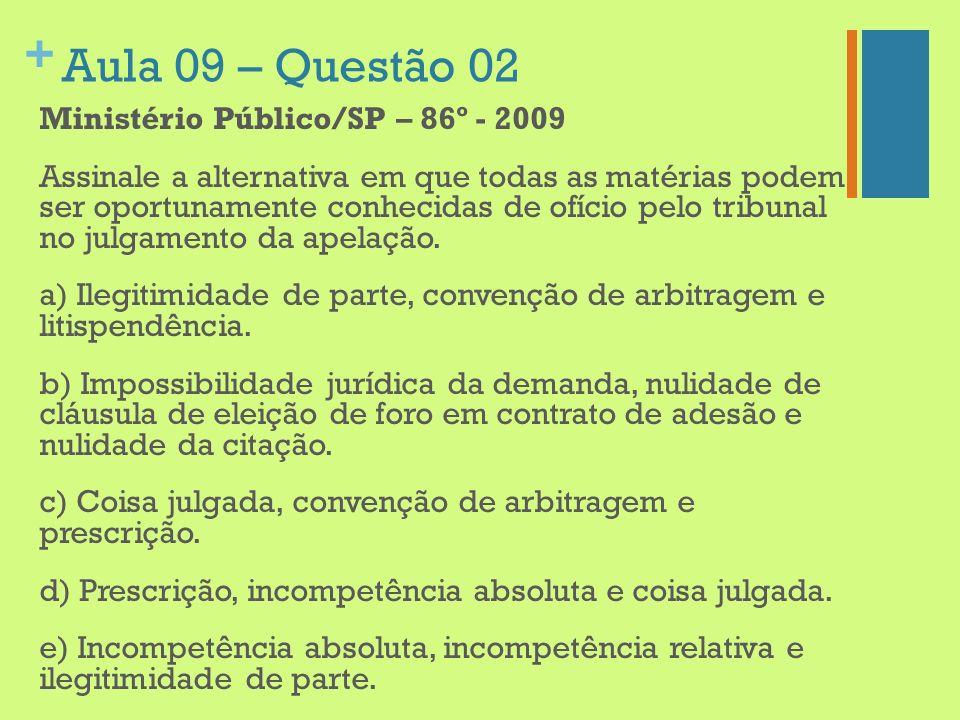 Aula 09 – Questão 02