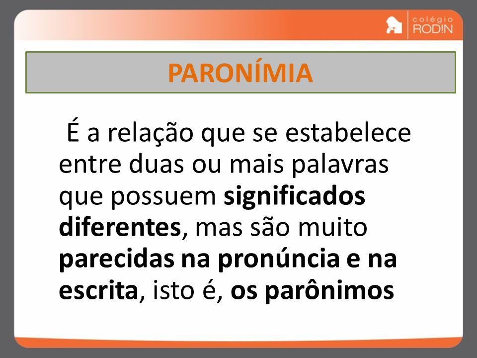 PARONÍMIA