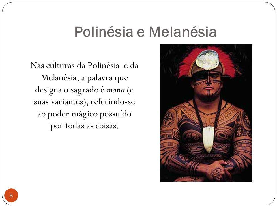 Polinésia e Melanésia