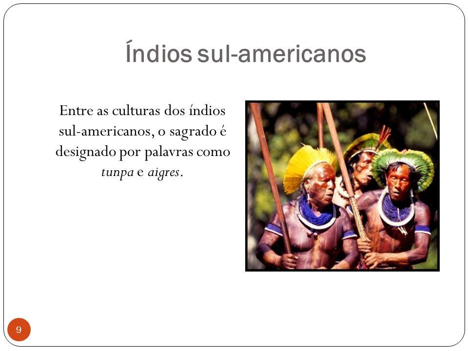 Índios sul-americanos