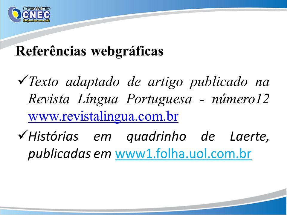 Referências webgráficas