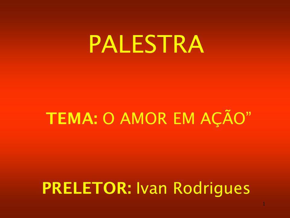 PRELETOR: Ivan Rodrigues