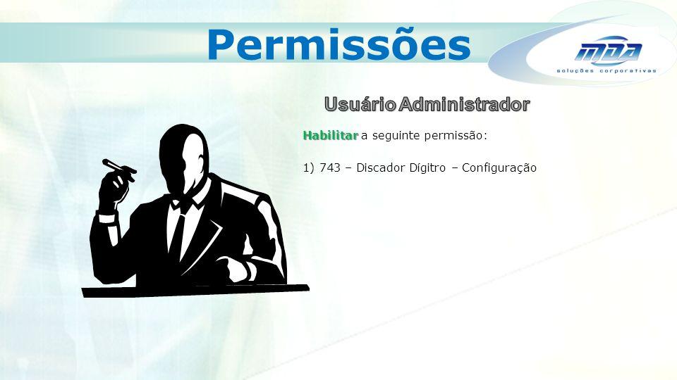 Usuário Administrador