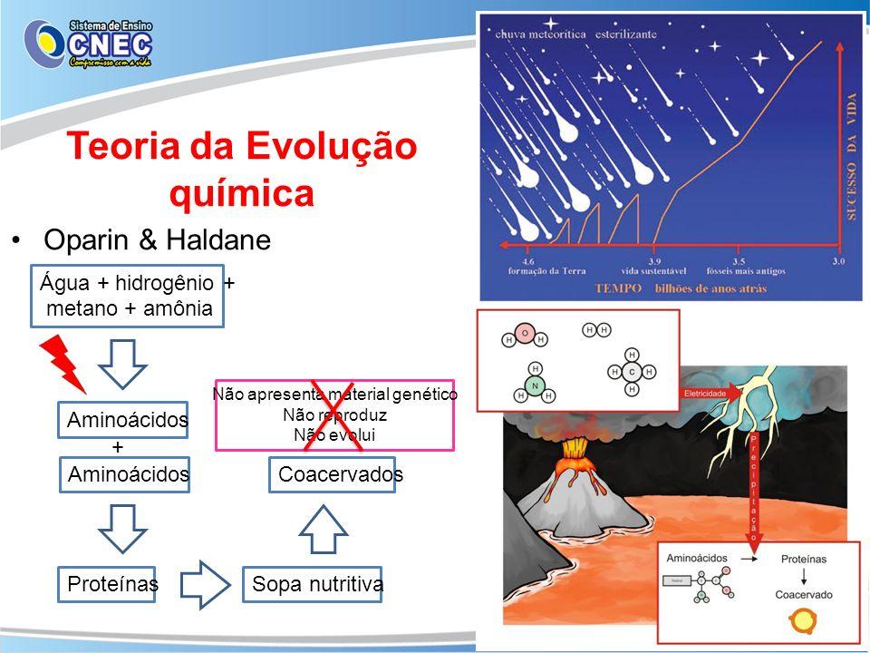 Teoria da Evolução química