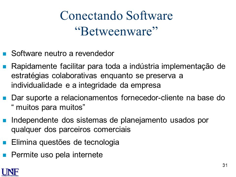 Conectando Software Betweenware