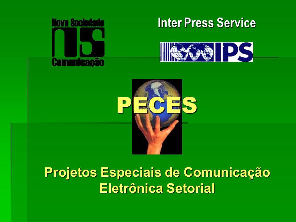 Projetos Especiais de Comunicação Eletrônica Setorial
