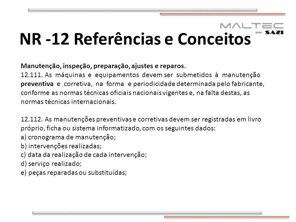 NR -12 Referências e Conceitos