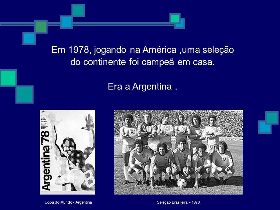 Copa do Mundo - Argentina