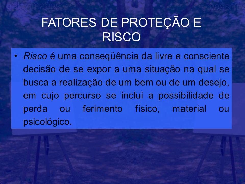 FATORES DE PROTEÇÃO E RISCO