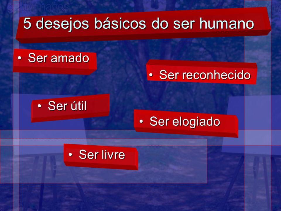 5 desejos básicos do ser humano