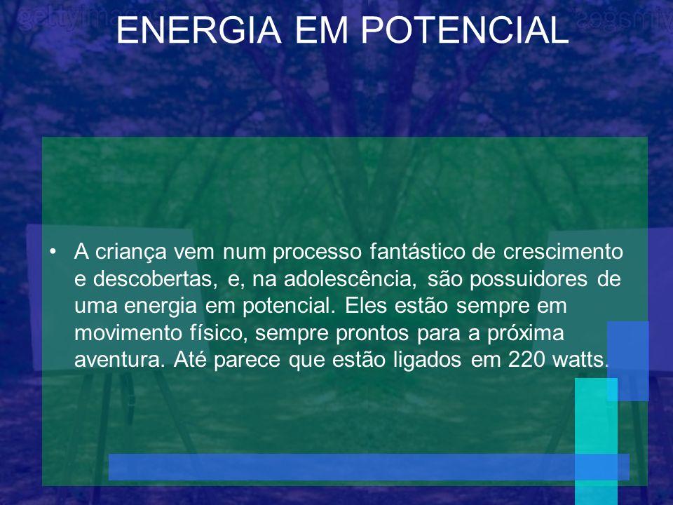 ENERGIA EM POTENCIAL