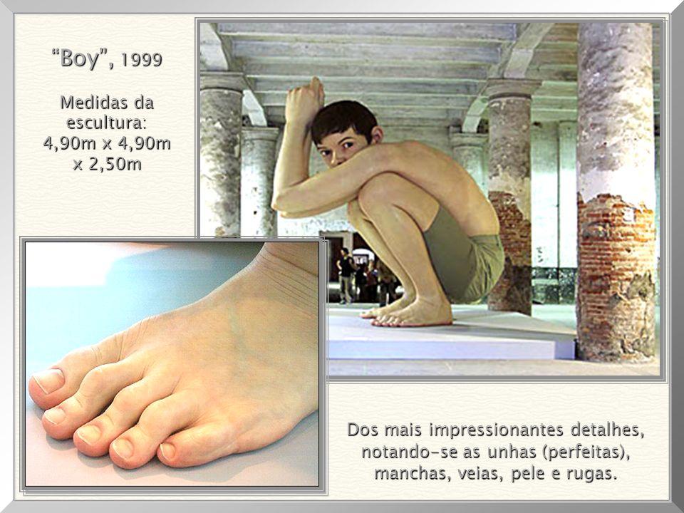 Boy , 1999 Medidas da escultura: 4,90m x 4,90m x 2,50m