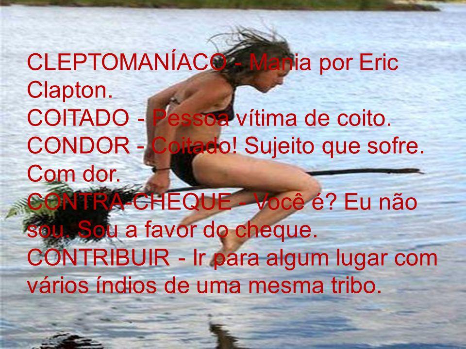 CLEPTOMANÍACO - Mania por Eric Clapton.