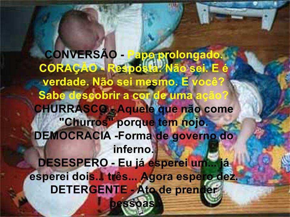 CONVERSÃO - Papo prolongado.