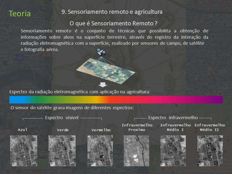 9. Sensoriamento remoto e agricultura