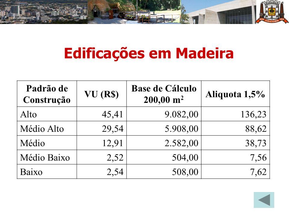 Edificações em Madeira