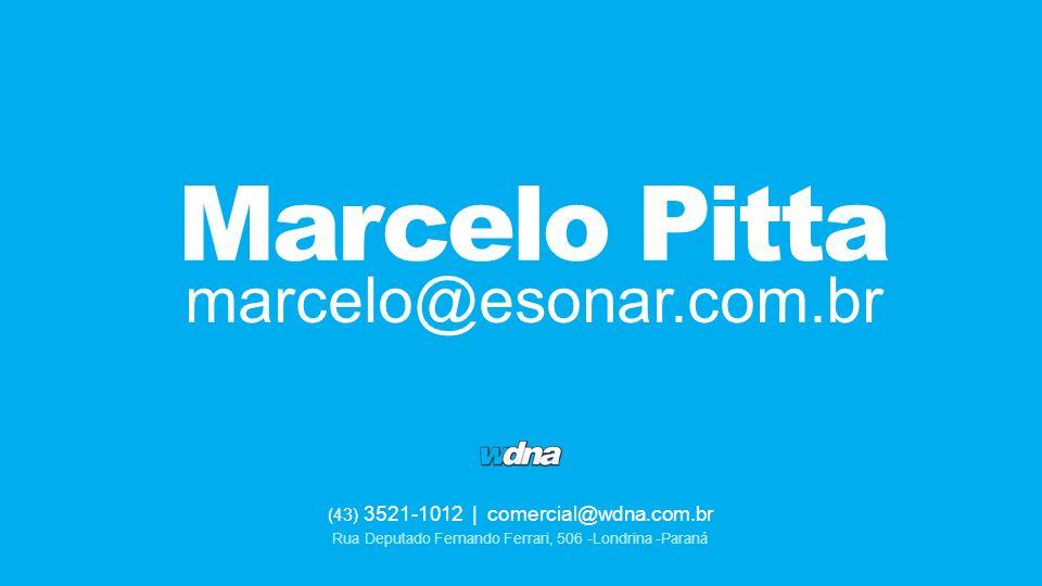 Marcelo Pitta marcelo@esonar.com.br