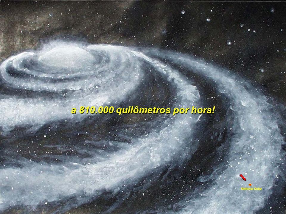 a 810.000 quilômetros por hora! Sistema Solar