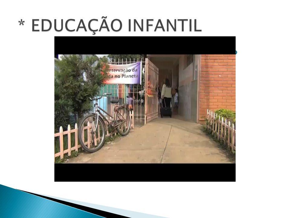 * EDUCAÇÃO INFANTIL COMO A CRIANÇA APRENDE