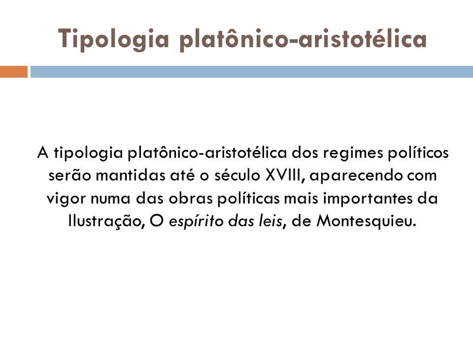 Tipologia platônico-aristotélica